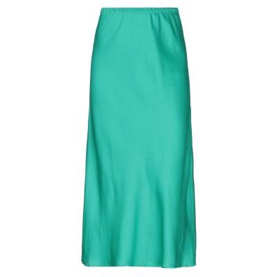 VICOLO 7分丈スカート グリーン S ポリエステル 100% 7分丈スカート