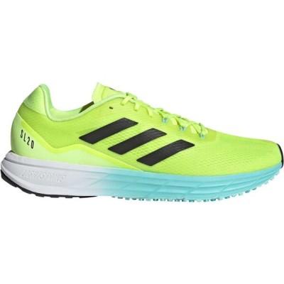 アディダス adidas メンズ ランニング・ウォーキング シューズ・靴 SL20 Running Shoes Black/Yellow/Blue