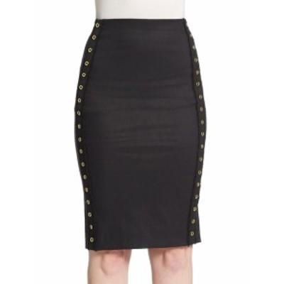 デレクラムテンクロスビー レディース スカート Eyelet Accented Pencil Skirt