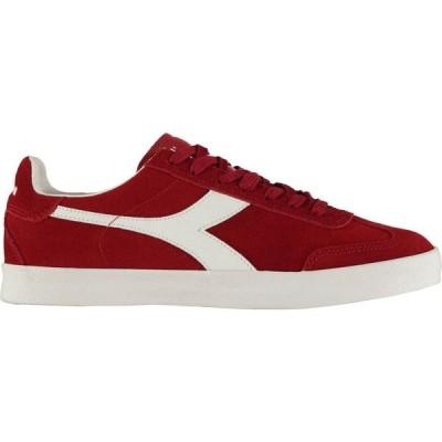 ディアドラライフスタイル Diadora Lifestyle メンズ スニーカー シューズ・靴 Pitch Trainers Haute Red