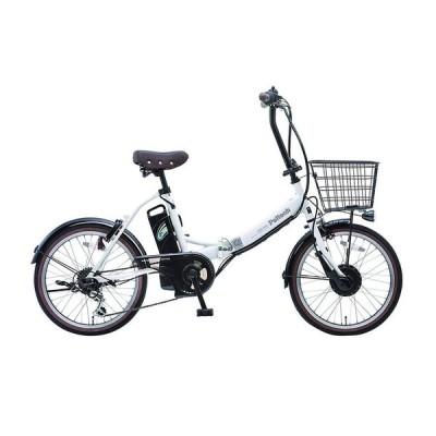 自転車 電動自転車 電動アシスト自転車 TDN-206 6Ah ペルテック PELTECH CYCOO 20インチ 折畳み自転車 外装6段