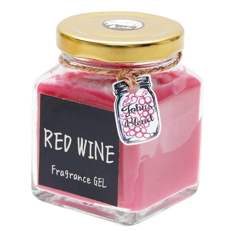 【日本John′s Blend】RED WINE 紅葡萄酒 紅酒香調 芳香凝膠 / 芳香膏 (135g)