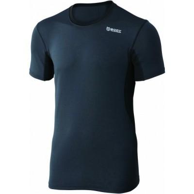 おたふく手袋 デュアルメッシュ ショートシャツ S グレー×ブラック 胸囲:80-88 身長:155-165 JW-601 オタフク 1