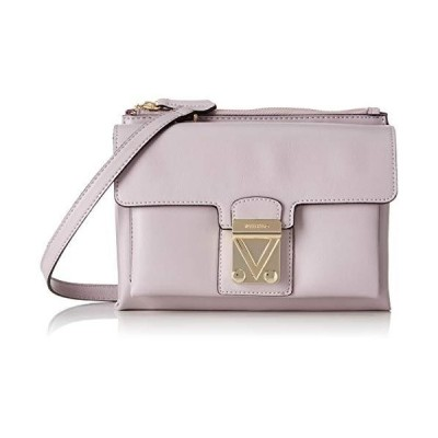 Mario Valentino Women's Memole Tornister Bag 8 x 16.5 x 24.5 cm Purple Size: One size 並行輸入品