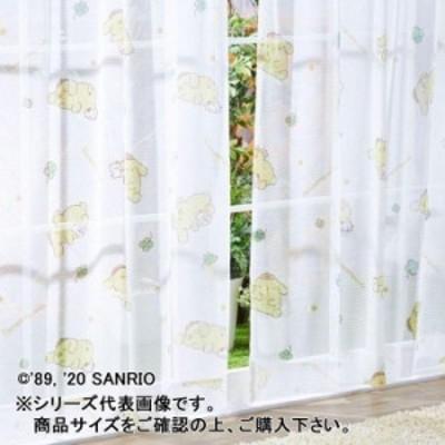 サンリオ ポムポムプリン レースカーテン 2枚セット 100×133cm SB-538-S