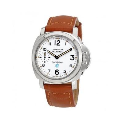 Panerai/パネライ メンズ 腕時計 Luminor Marina White Dial メンズ Hand Wound Watch PAM00660