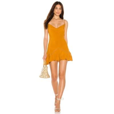 フリーピープル Free People レディース ワンピース ミニ丈 ワンピース・ドレス Forever Fields Mini Dress Gold