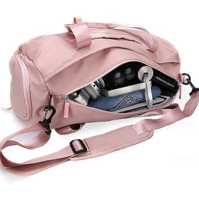 [HYC00] ジムバッグ シューズ収納 レディース スポーツバッグ ボストンバッグ ダッフルバッグ トートバッグ 旅行バッグ ジム用バッグ 手提げ