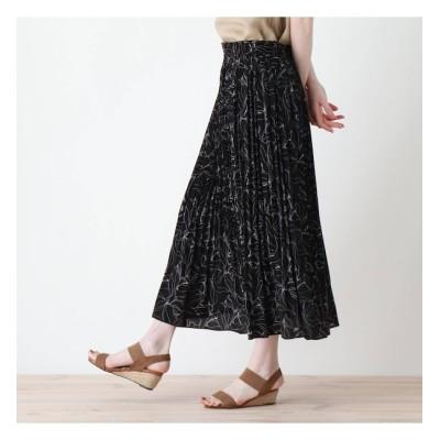 【シューラルー/SHOO・LA・RUE】 変形プリーツスカート