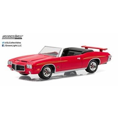 グリーンライト 模型・おもちゃ Greenlight 1:64 Muscle Car Series 15 1971 Pontiac GTO Judge Convertible Cardinal