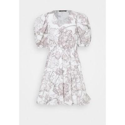 ブルンスバザー レディース ワンピース トップス POSY OLIVINE DRESS - Day dress - snow white snow white