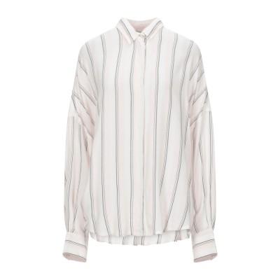 イロ IRO シャツ ライトピンク 34 レーヨン 50% / レーヨン 50% シャツ
