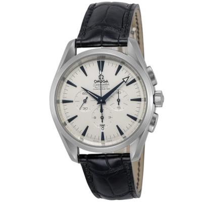 オメガ OMEGA 腕時計 シーマスターアクアテラ レザーMウォッチ AT 2812.30.31 ギフトラッピング無料