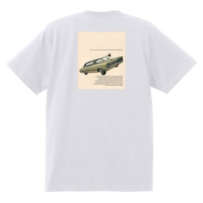 アドバタイジング ビュイック 白228 Tシャツ 1965 リビエラ ルセーブル ワイルドキャット gs350 スカイラーク