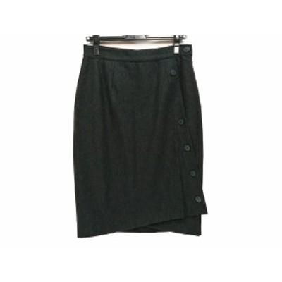 ミッソーニ MISSONI スカート サイズ44 L レディース 美品 ダークグリーン DONNA【中古】20200710