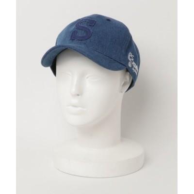 帽子 キャップ PEANUTS S LOGO DENIM CLASSIC BB CAP
