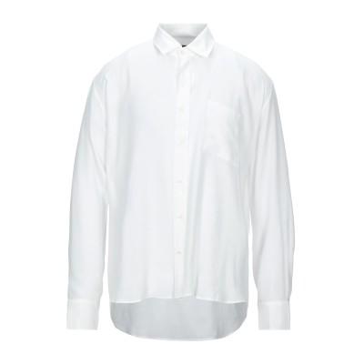 QASIMI シャツ ホワイト 46 レーヨン 92% / シルク 8% シャツ