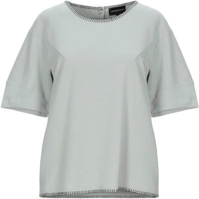 エンポリオ アルマーニ EMPORIO ARMANI T シャツ ライトグレー 40 コットン 62% / ナイロン 38% T シャツ