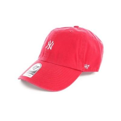フォーティーセブン(47) 帽子 メンズ Yankees Base Runner CL キャップ B-BSRNR17GWS-RD 日よけ (メンズ)