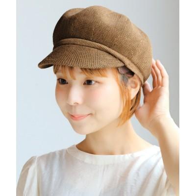 14+(ICHIYON PLUS) / ペーパーポコポコキャスケット WOMEN 帽子 > キャスケット