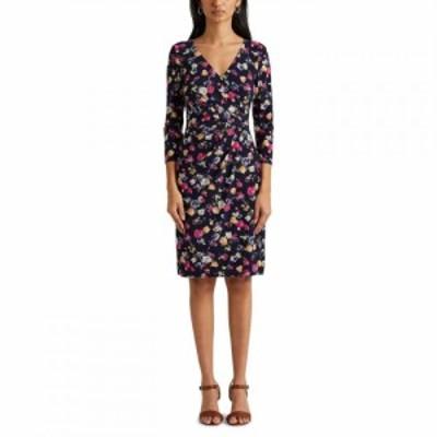 ラルフ ローレン Lauren by Ralph Lauren レディース ワンピース ワンピース・ドレス LRL Cleora LS Dress Navy/Pink Multi
