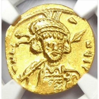 アンティークコイン Byzantine Constantine IV AV Solidus Gold Coin 668-68