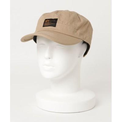 JEANS MATE / 【ALPHA INDUSTRIES/アルファインダストリーズ】フロントワンポイントブランドロゴ リップワークキャップ MEN 帽子 > キャップ