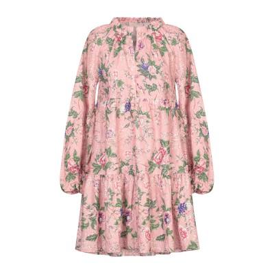 アンジュナ ANJUNA ミニワンピース&ドレス パステルピンク XS コットン 100% ミニワンピース&ドレス