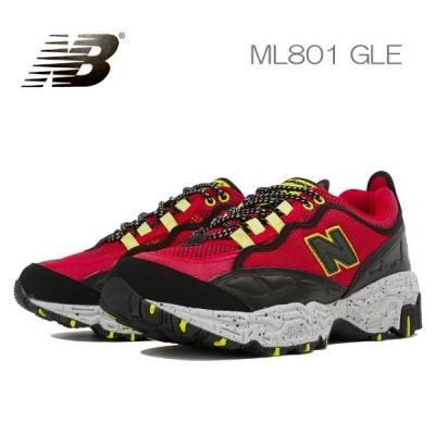 ニューバランス スニーカー メンズ ML801 TRAIL GLE newbalance レッド赤トレイルランニング アウトドア