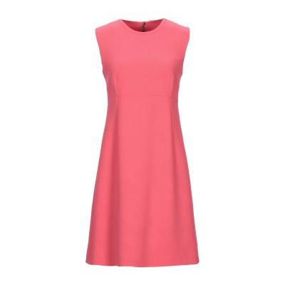 ドルチェ & ガッバーナ DOLCE & GABBANA ミニワンピース&ドレス コーラル 36 ウール 100% ミニワンピース&ドレス