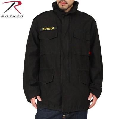 OTHCO ロスコ VINTAGE M-65ジャケット BLACK メンズ フィールドジャケット ミリタリージャケット アウター ジャンバー ブルゾン ゆったり 大きめ ブランド