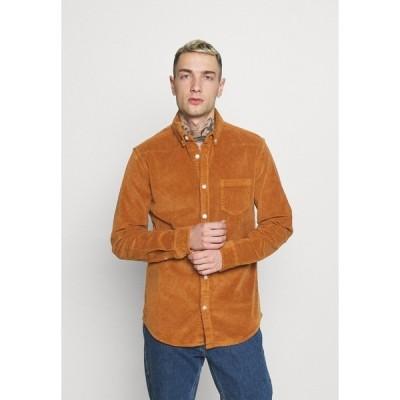 リディファイン レベル シャツ メンズ トップス RRSEAN  - Shirt - golden oak