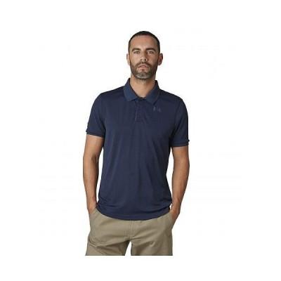 Helly Hansen ヘリーハンセン メンズ 男性用 ファッション ポロシャツ Lifa Active Solen Short Sleeve Polo - Navy