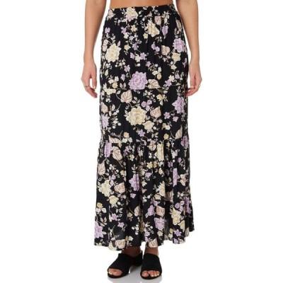 スウェル Swell レディース ロング・マキシ丈スカート スカート ava maxi skirt Whispers floral black