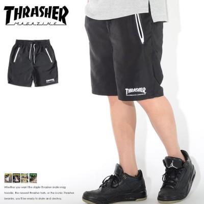 THRASHER スラッシャー ハーフパンツ ショートパンツ ジップポケット 裾MAGロゴ (TH6044) セール