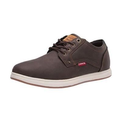 Levi's Mens Arnold Waxed UL NB Classic Fashion Sneaker Shoe, Brown, 10 M【並行輸入品】