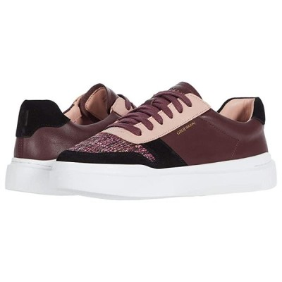 コールハーン Grandpro Rally Court Sneaker レディース スニーカー Tawny Port Nappa/Black Suede