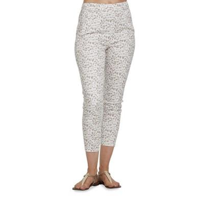ジョアンバス レディース カジュアルパンツ ボトムス Slim Animal Printed Stretch Woven Pants
