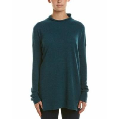 ファッション トップス White + Warren Mock Neck Cashmere Sweater