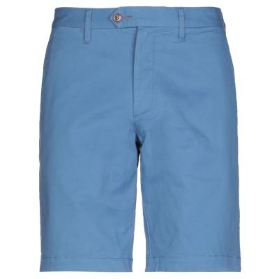 テッドベーカー TED BAKER バミューダパンツ ブルー 36 コットン 98% / ポリウレタン 2% バミューダパンツ