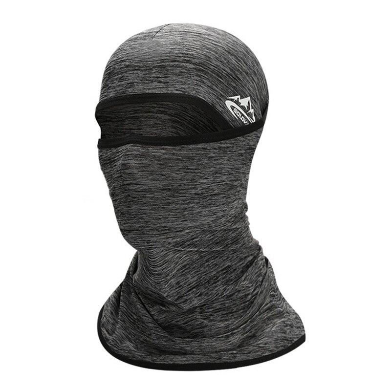 台灣現貨 冰絲頭套 防曬頭套 防曬面罩 涼感頭套 機車頭套 騎士頭套 運動頭套 頭套 面罩【SR0060】上大HOUSE