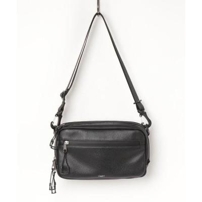 ショルダーバッグ バッグ ADAMPATEK/アダムパテック/[Echo]water proof leather shoulder bag