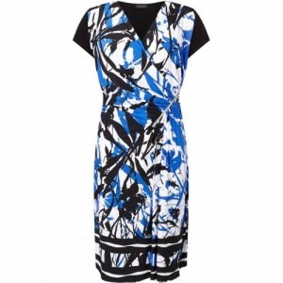 ジュームズ レイクランド James Lakeland レディース パーティードレス ワンピース・ドレス Floral Print Zip Dress Multi-Coloured