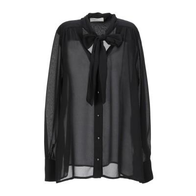 VICOLO シャツ ブラック S ポリエステル 100% シャツ