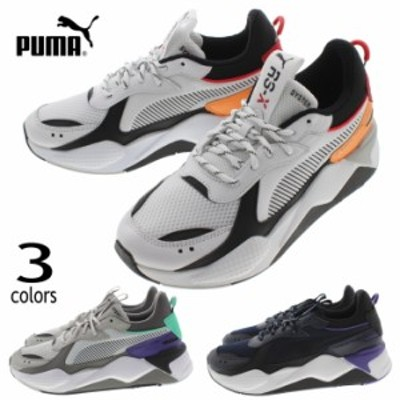 プーマ PUMA スニーカー RS-X TRACKS 369332 グレー バイオレット(01)プーマ ホワイト(02)プーマ ニュー ネイビー(03)