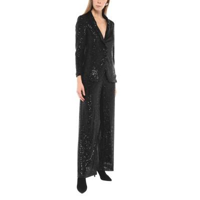 CARLA MONTANARINI スーツ ブラック 44 ポリエステル 93% / ポリウレタン 7% スーツ