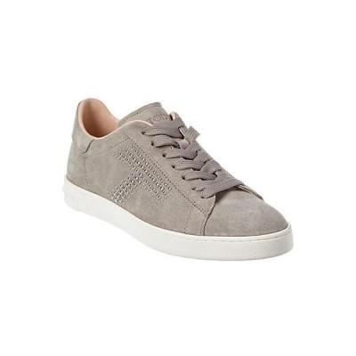 レディース シューズ  TOD's Studded Suede Sneaker