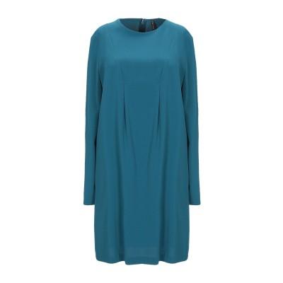 マニラ グレース MANILA GRACE ミニワンピース&ドレス ディープジェード 38 ポリエステル 88% / ポリウレタン 12% ミニワン