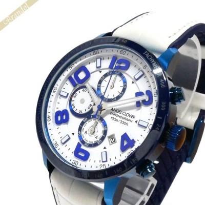 エンジェルクローバー Angel Clover メンズ腕時計 ルーチェ ホワイトコレクション LUCE 44mm ホワイト LU44BNV WH