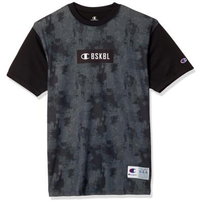 [チャンピオン] バスケットボールドライセーバー Tシャツ C3-RB341 メンズ ブラック 日本 L (日本サイズL相当)